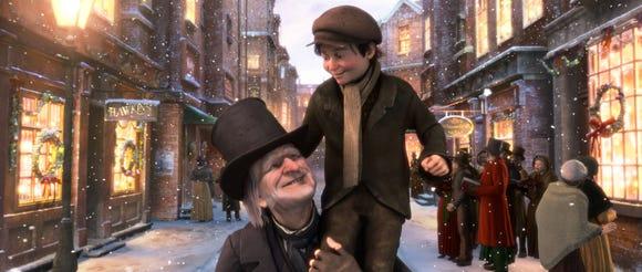 """""""Disney's A Christmas Carol"""" ."""