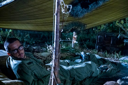 Nicky (Michael Angarano), using drugs and troubled by his war experience, rebels against his brother, Jack, in Tuesday's mid-season finale of NBC's 'This Is Us.'