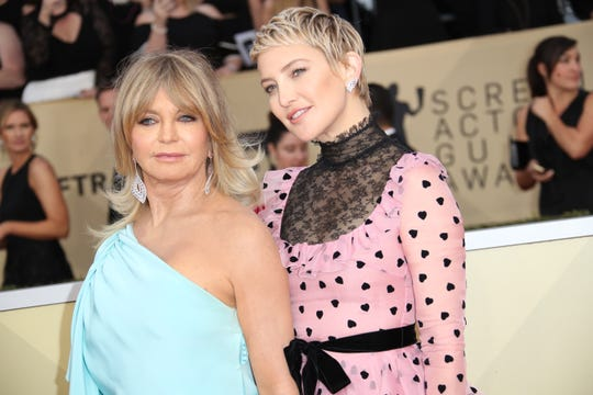 Goldie Hawn's mother was Jewish, which makes Hawn Jewish and her daughter Kate Hudson Jewish. Judaism is matrilineal.