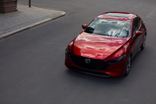 La Auto Show Mazda Reveals Redesigned Mazda3 Compact Car