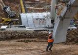 Bridge to $75 million TTi facility under construction