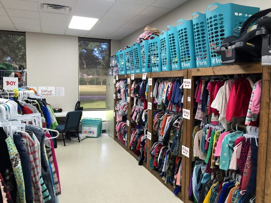 The Foster Care Closet earned the 2018 Community Impact Award. the nonprofit provides clothing and other items for kids who may enter foster care with nothing more than the outfit they're wearing at the time.