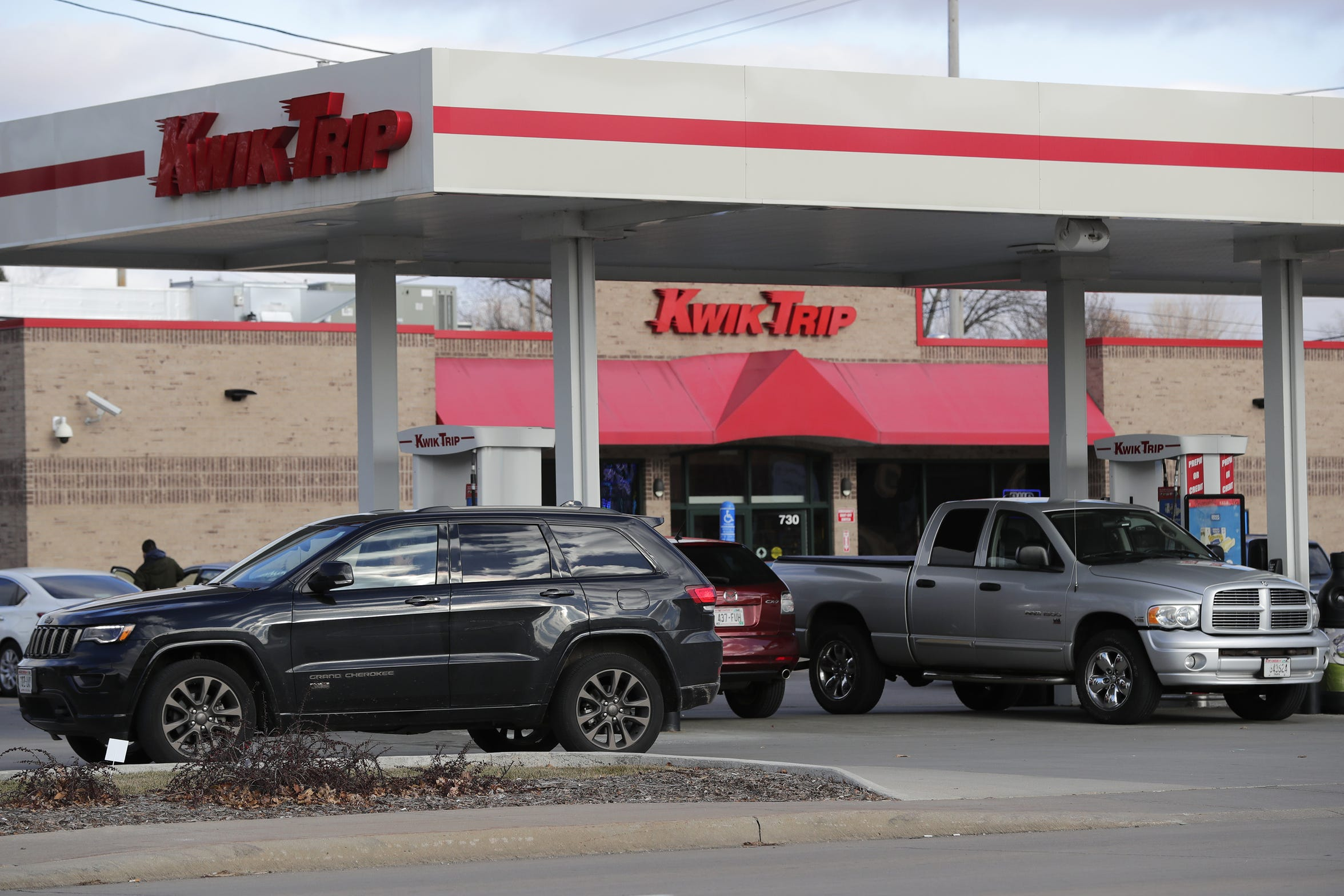 The Kwik Trip located at 730 East Wisconsin Avenue is a buzz of activity Wednesday, Nov. 28, 2018, in Appleton.