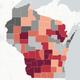 Map: Where Wisconsin gun hunters harvested more deer this year