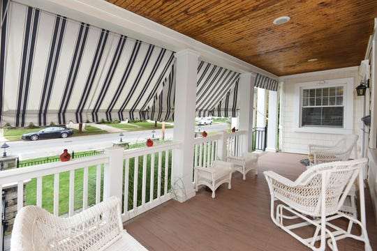 The home features a remarkable wrap around porch.