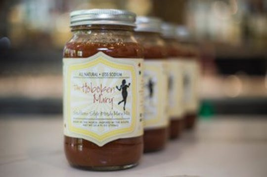 "The Hoboken Mary is an all-natural, low-sodium mix that is ""made in the North, inspired by the South""."