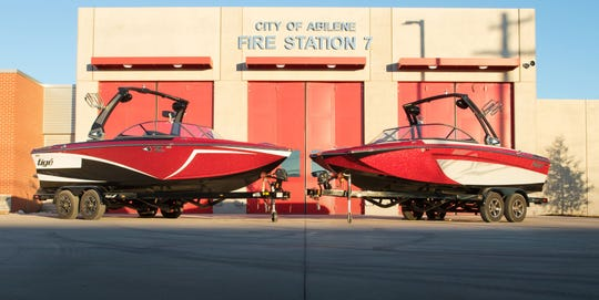 A 2018 Tige Z1 and 2018 Tige R20 put on auction to benefit the California Fire Foundation