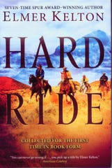 """""""Hard Ride"""" by Elmer Kelton"""