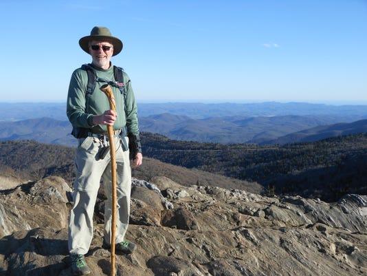 Debrecht Hiking Black Balsam Knob
