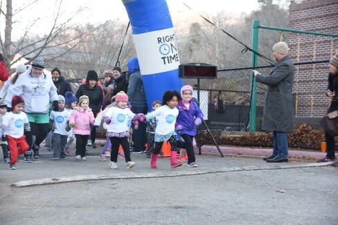 Up to 200 runners are expected at the Asheville JCC Hanukkah 8K run and Kids Latke Loop Dec. 9.