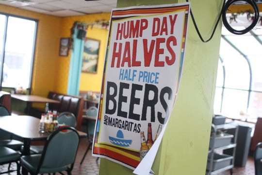 El Pulpo Mexican Restaurant and Grill serves up half priced beers and margaritas on Wednesdays.