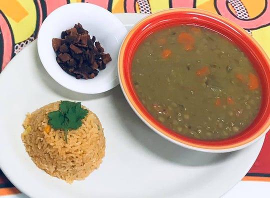 Lentil Soup is a new item on the menu at El Pulpo Mexican Restaurant & Grill.