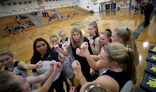Karen Byers is the third coach at Bainbridge in four years.