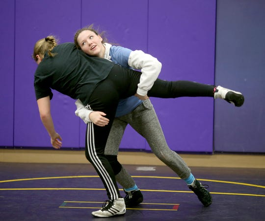 North Kitsap junior Holly Beaudoin during a recent practice.