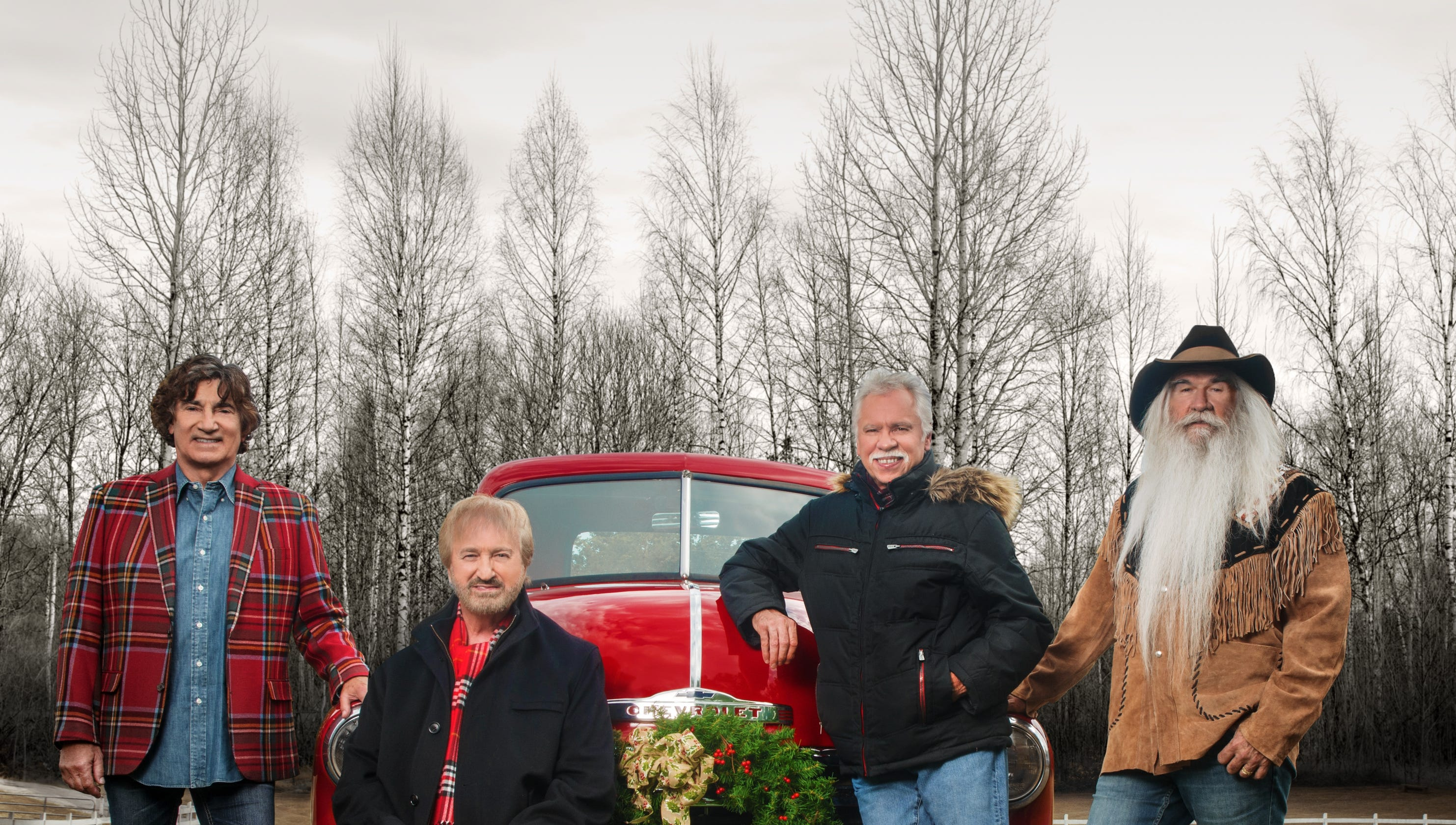 The Oak Ridge Boys\' holiday tour touches down at the Suquamish Casino
