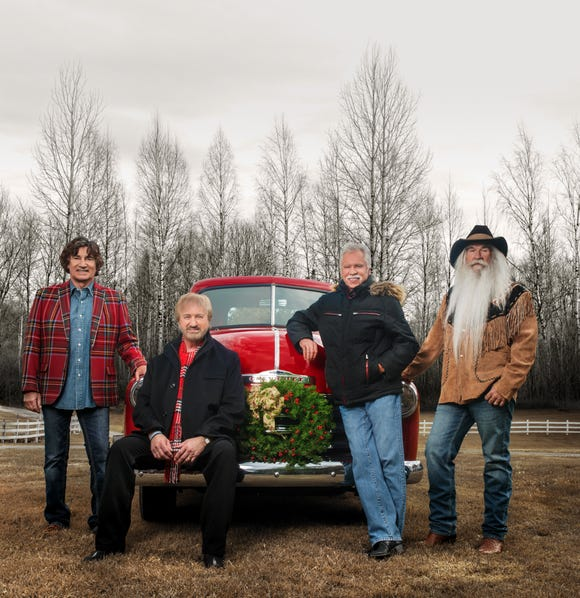 The Oak Ridge Boys are (from left) Richard Sterban, Duane Allen, Joe Bonsall and William Lee Golden.