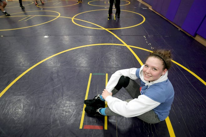 North Kitsap junior wrestler Holly Beaudoin finished second at state in both her freshman and sophomore seasons.