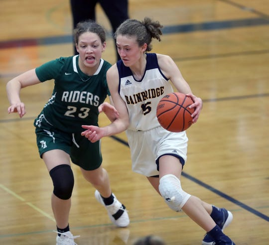Bainbridge junior Olivia Wikstrom averaged 22.6 points per game for the Spartans this winter. She is the Kitsap Sun girls basketball player of the year for 2019.