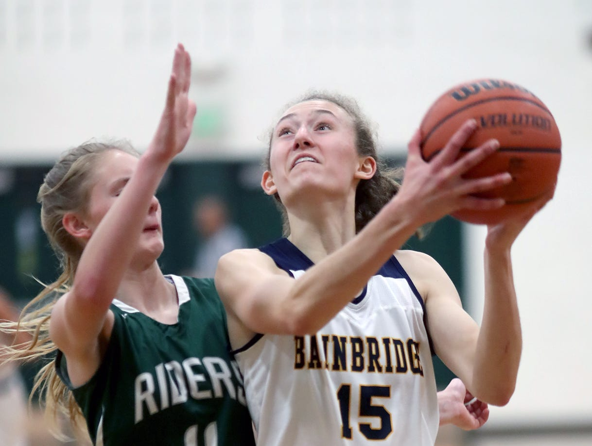 The Bainbridge girls basketball team played Port Angeles at Bainbridge, on Wednesday, Nov. 28, 2018.