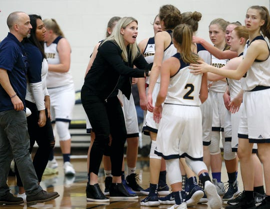Karen Byers is in her first season as head coach at Bainbridge High, but she has worked with several of Spartans players through summer programs.