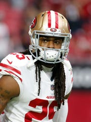 Richard Sherman returns to Seattle on Sunday with the San Francisco 49ers. It will be his first time playing at CenturyLink since the Seahawks released him last offseason.
