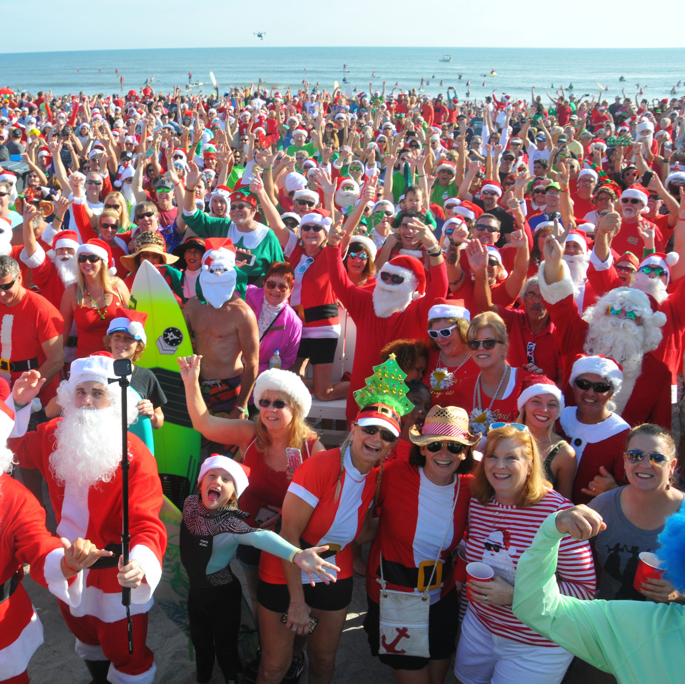 Surfing Santas in Cocoa Beach makes Hallmark Channel for Christmas special