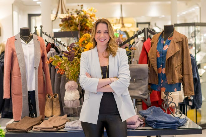 "Jessica Pomerleau, owner of Jess Boutique: ""I have my touch on everything in the store."""