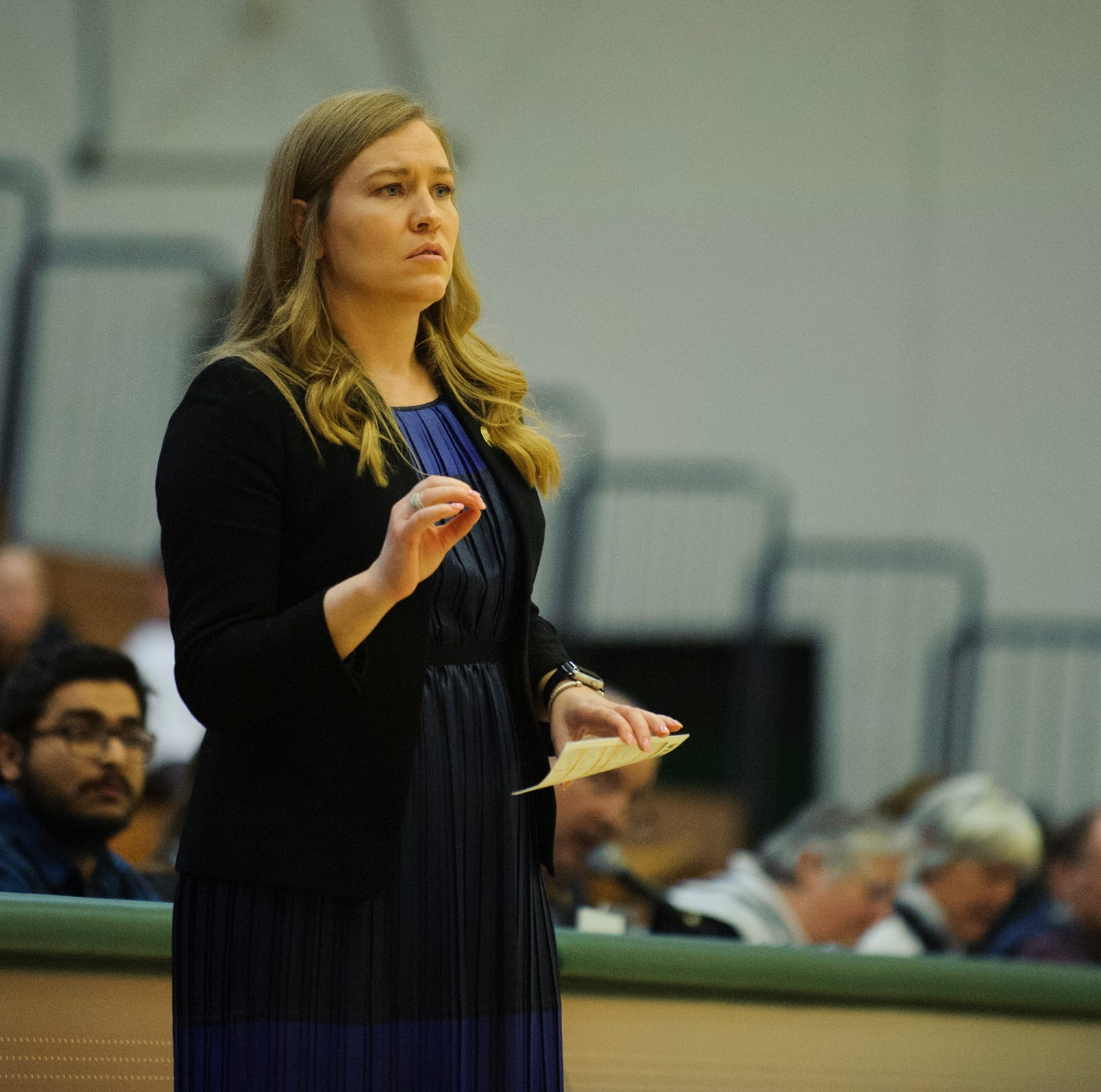 Interim no more: UVM, women's basketball coach Alisa Kresge agree to 4-year deal