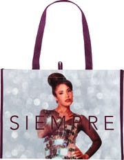 The new Selena reusable tote bag is set to be released Dec. 6 in time for the holiday season.