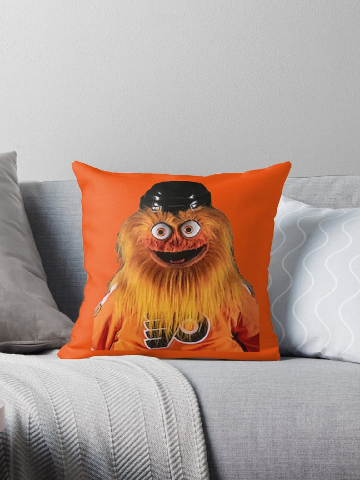 Get this Gritty pillow on Redbubble.com