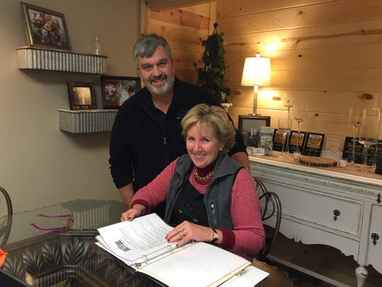 Bruce and Vickie Wenstrup.