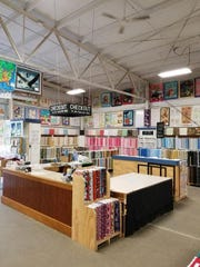 Zinck's Fabric offers a variety of fabrics.