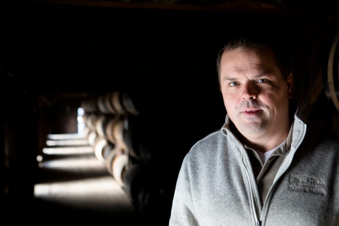 Harlen Wheatley, Buffalo Trace Master Distiller, stands inside building C at Buffalo Trace distillery in Frankfort, Ky., on Wednesday, Nov. 28, 2018.