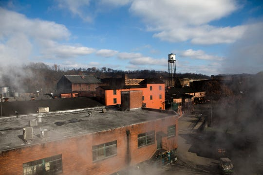 A view of Buffalo Trace Distillery in Frankfort, Ky., on Wednesday, Nov. 28, 2018.