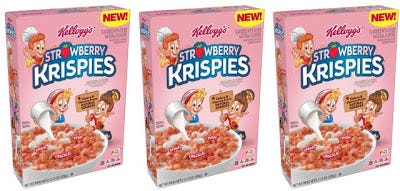 Strawberry Rice Krispies