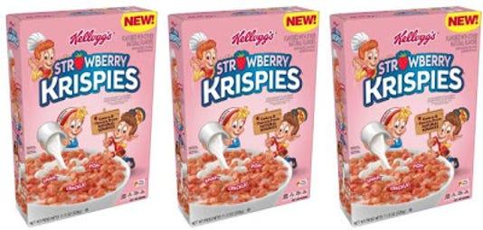Kelloggs Strawberry Rice Krispies