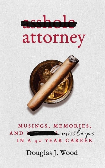 Asshole Attorney Cover Courtesy Of Plum Bay Publishing