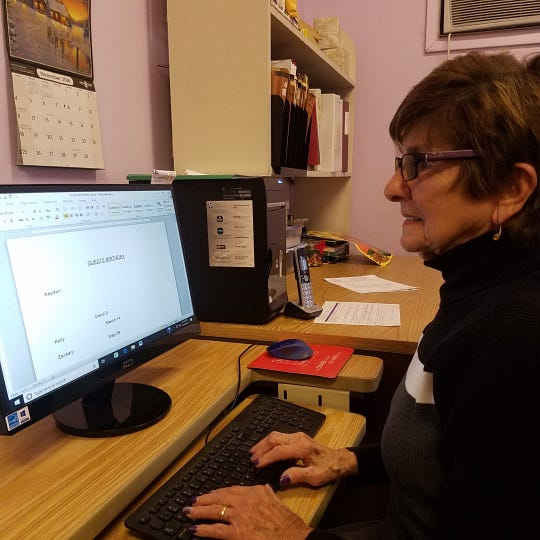Kathy Steiner is the longtime administrative assistant at the FISH Hospitality Program.