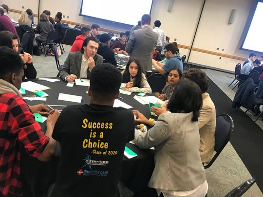 Students attend JA career success workshop