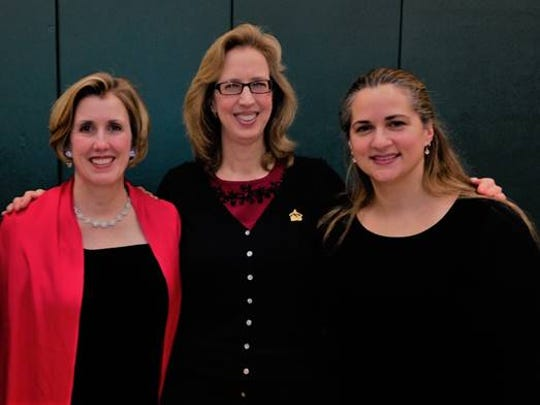 Soprano Jamie Baer Peterson, pianist Lois Buesser, and cellist Sariah Johnson will perform an evening of holiday music at 7:30 p.m. on Thursday, Dec. 6.