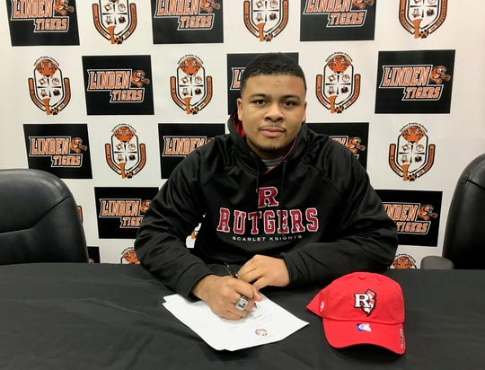 Linden High School senior Kyle Lipscomb has committed to joining the track and field team at Rutgers University.