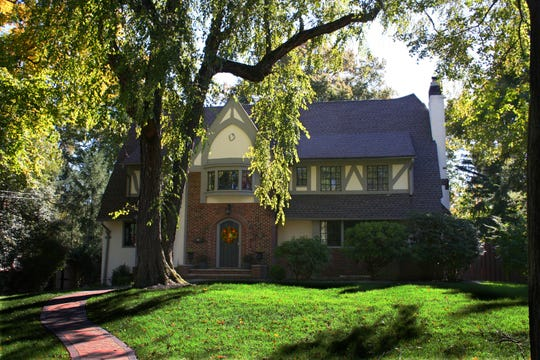This Tudor-style home at 1420 Evergreen will be on the historic homes tour in Plainfield on Dec. 1.
