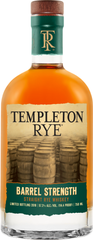 Templeton Rye introduces new whiskey: Templeton Rye Barrel Strength Straight Rye Whiskey