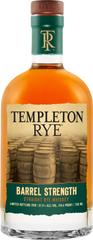 Templeton Rye introduces new whiskey: Templeton Rye Barrel Strength Straight Rye Whiskey