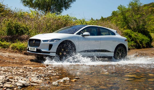 Utility of the Year finalist--2019 Jaguar I-Pace, European model