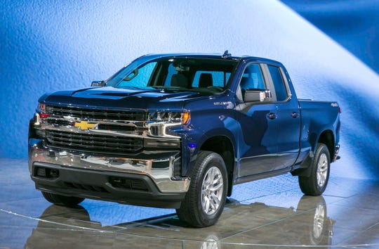 Truck of the Year finalist--2019 Chevrolet Silverado 1500 LT
