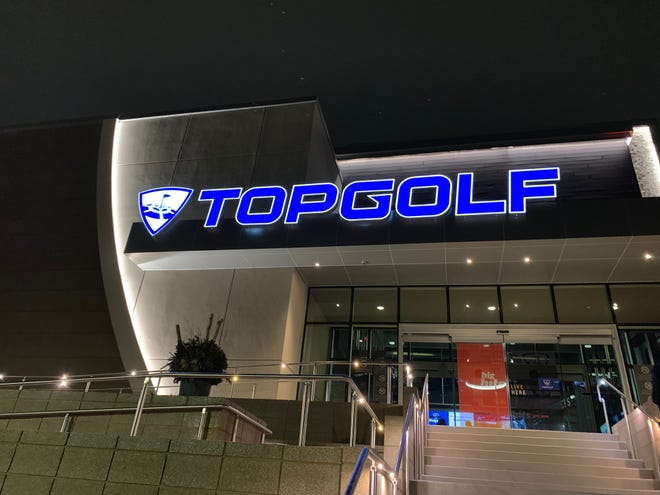 The 65,000-square-feet Topgolf Auburn Hills location in Oakland County on Wednesday November, 28, 2018.