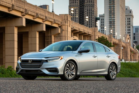 Car of the Year finalist--2019 Honda Insight