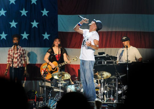 Kid Rock will perform at DTE Energy Music Theatre in September.