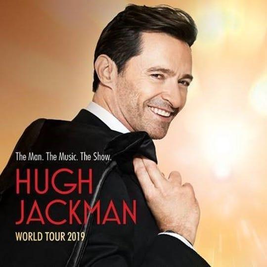 Hugh Jackman's tour is coming to Detroit.